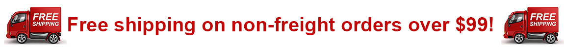 Free shipping on non-freight orders over $99!